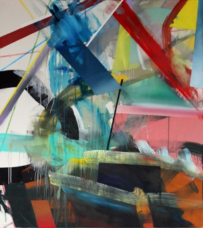 Richard Nestler: 1-akryl-und-spray-auf-leinwand-170x150cm-2013