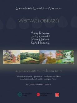 2014-vystava-obrazu-chvalovska-tvrz--vytvarny-atelier-pragaprima-