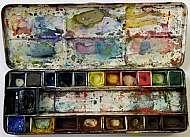 Akvarel pro začátečníky ateliér praga prima Marie Ladrová