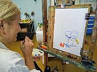 Workshop malba podzimni zatisi Lukas Bradacek