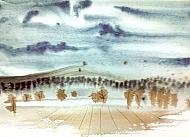 Kurz akvarel Marie Ladrova