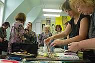 Workshop akvarel s Marií Ladrovou v ateliéru Praga Prima