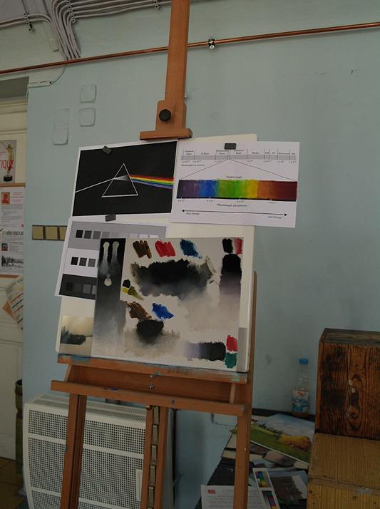 Malba Krok Za Krokem Akryl Akvarel Olejomalba Vodou Reditelne