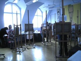 Kurz malby: olejomalba - akryl, krajina