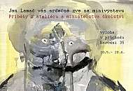Jan Lamač výstava malba ateliér praga prima galerie za sklem