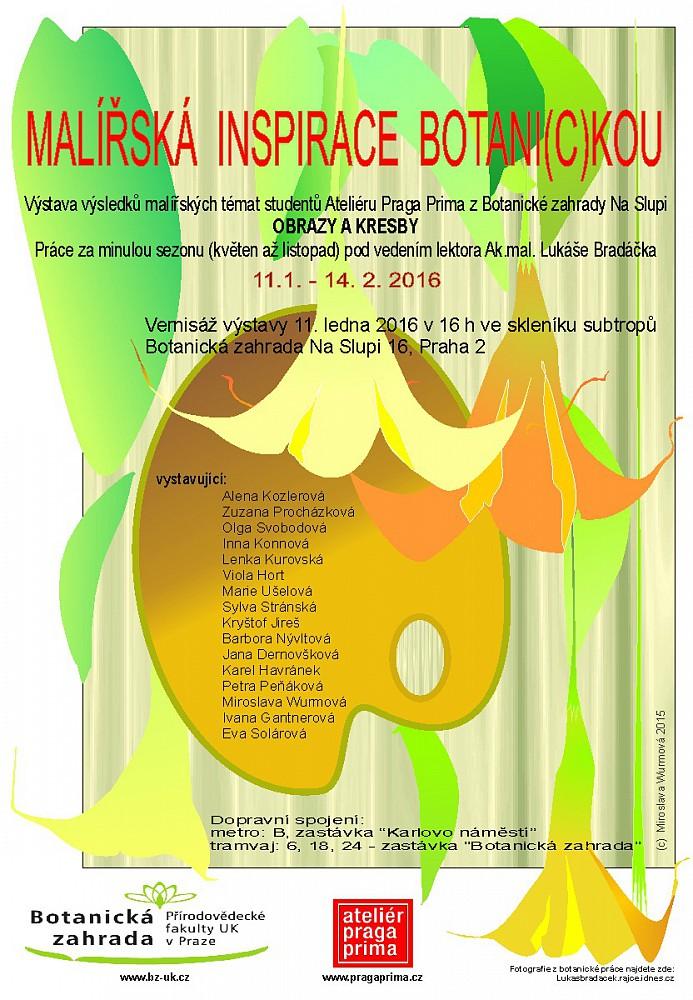 Výstavy našich studentů: praga-prima-vystava-v-botanicke-zahrade