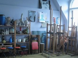 Výtvarné kurzy Praha: malba, kresba, portrét, akt