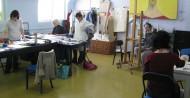 Workshop: úvod do akvarelu, malba akrylem
